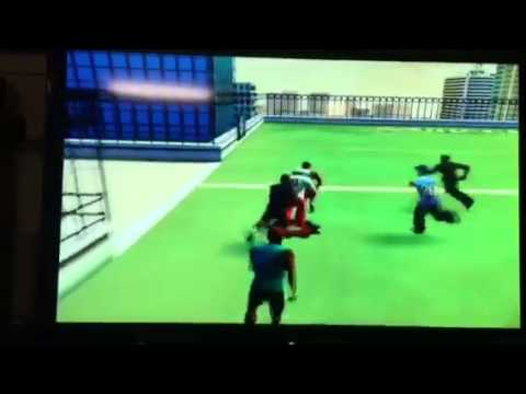 NFL Street 2 sick play - Priest Holmes game-winning touchdown