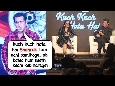 Salman Khan's Sweetest Message On Working Again With Shahrukh,Kajol & Rani Kuch Kuch Hota Hai Part 2