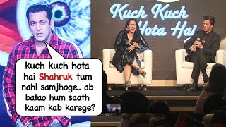 Salman Khan's Sweetest Message On Working Again With Shahrukh,Kajol & Rani Kuch Kuch Hota Hai Part 2