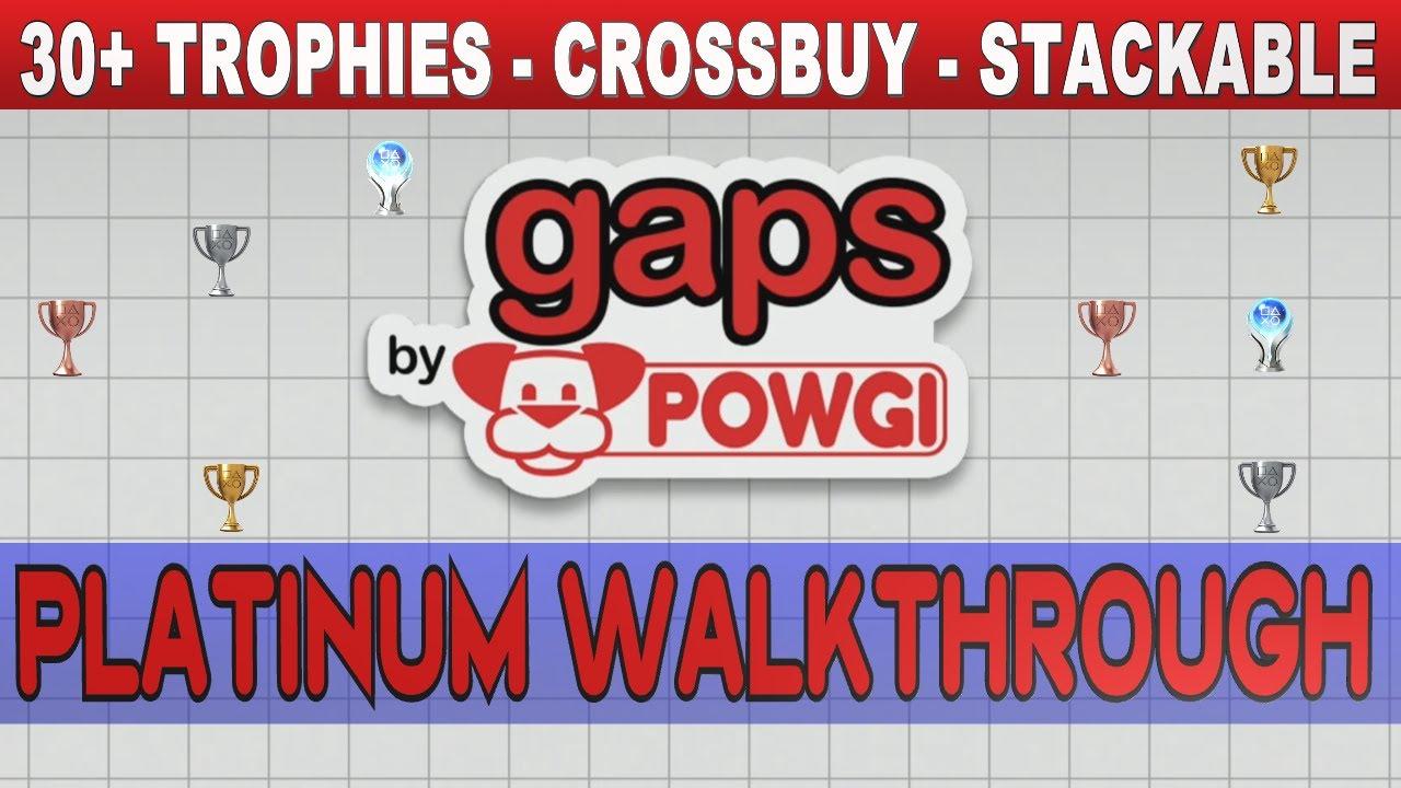 Download Gaps by POWGI Platinum Walkthrough   Trophy & Achievement Guide   Crossbuy PS4/PS5