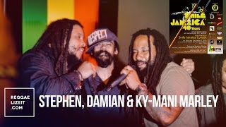 Download Stephen, Damian & Ky-mani Marley @ Smile Jamaica 40th anniversary - December 2016 MP3 song and Music Video