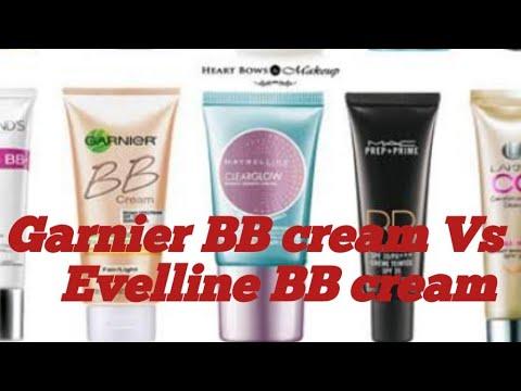 Garnier BB cream vs Eveline BB cream.