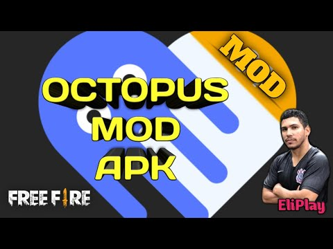 Octopus Mod sem anúncios! | Gamepad Free Fire | EliPla