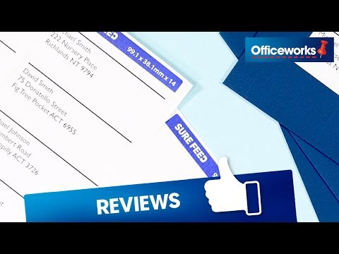 Avery 14UP Laser Address Labels with Sure Feed 120 Sheets | Officeworks