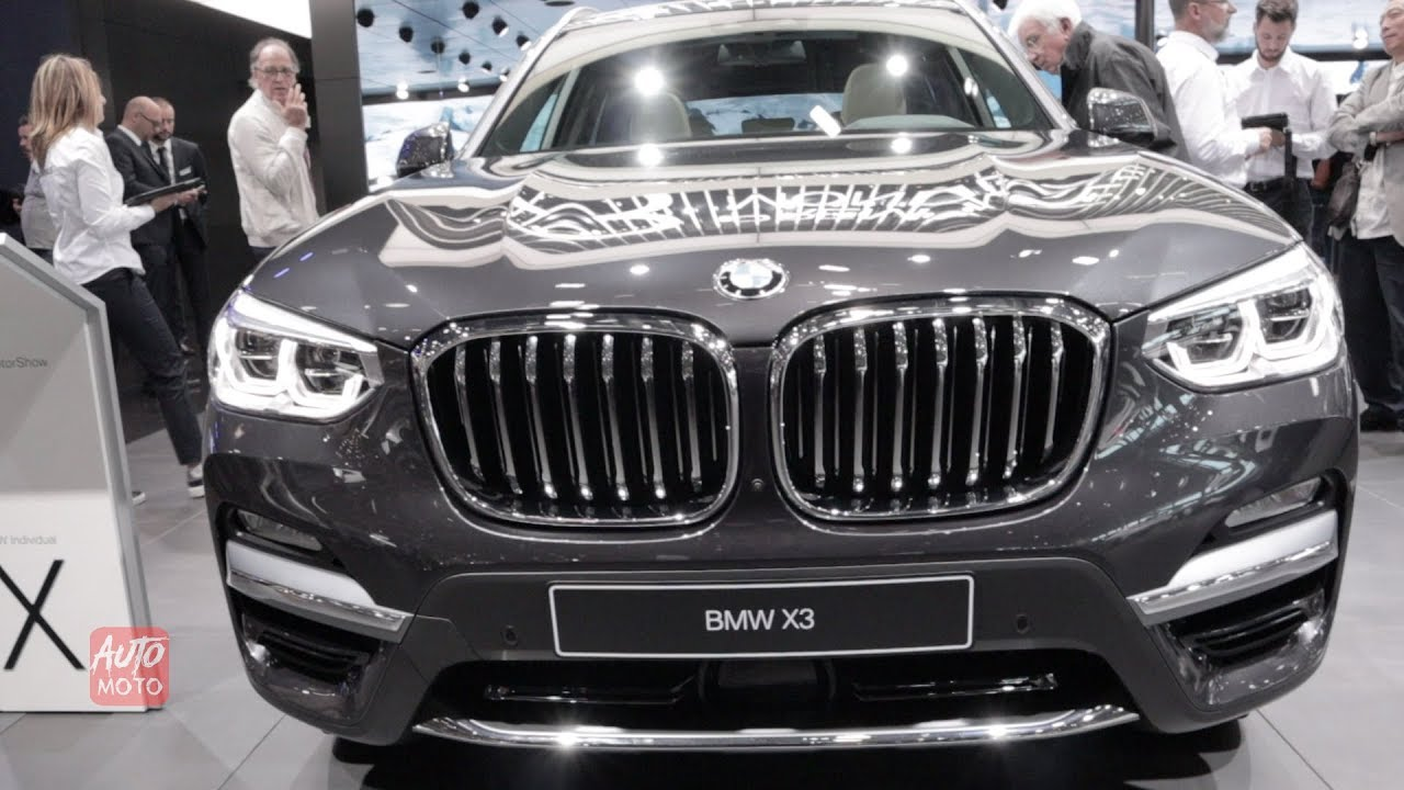 2019 Bmw X3 20d Exterior And Interior Walkaround 2018 Paris
