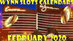Wynn Slots Reward Calendars Feburary 2020