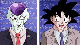 Goku vs Frieza Presidential Election