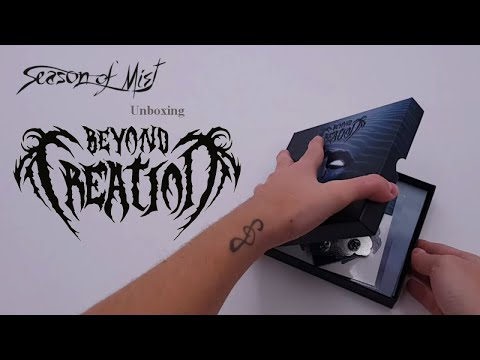 Beyond Creation - Unboxing limited edition 'Algorythm' digibox + extra's
