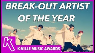 KMA'S BREAK-OUT ARTIST OF THE YEAR NOMINEES 2017