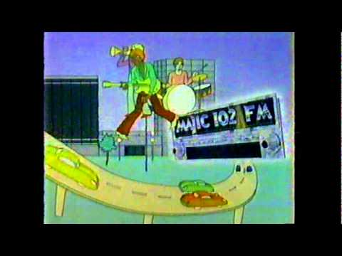 Majic 102.1 Commercial 1982