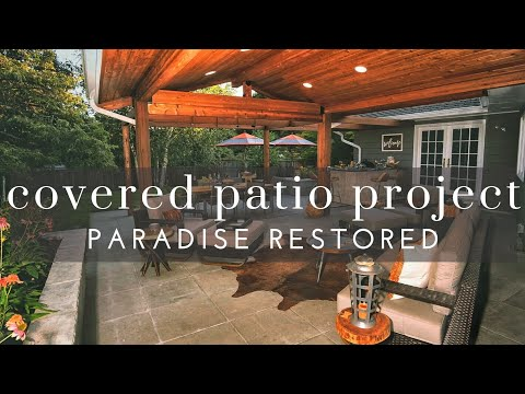 Outdoor Covered Patio Project
