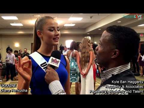 Kyle Haggerty and Miss Ukraine