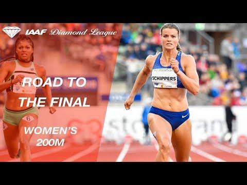 Road To The Final 2019: Women's 200m – IAAF Diamond League