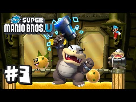 New Super Mario Bros U Wii U - Part 1 World 1 - YouTube