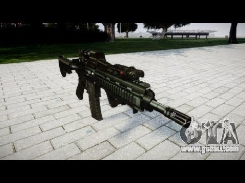 How To Install HK416 CQB Rifle  In GTA 4