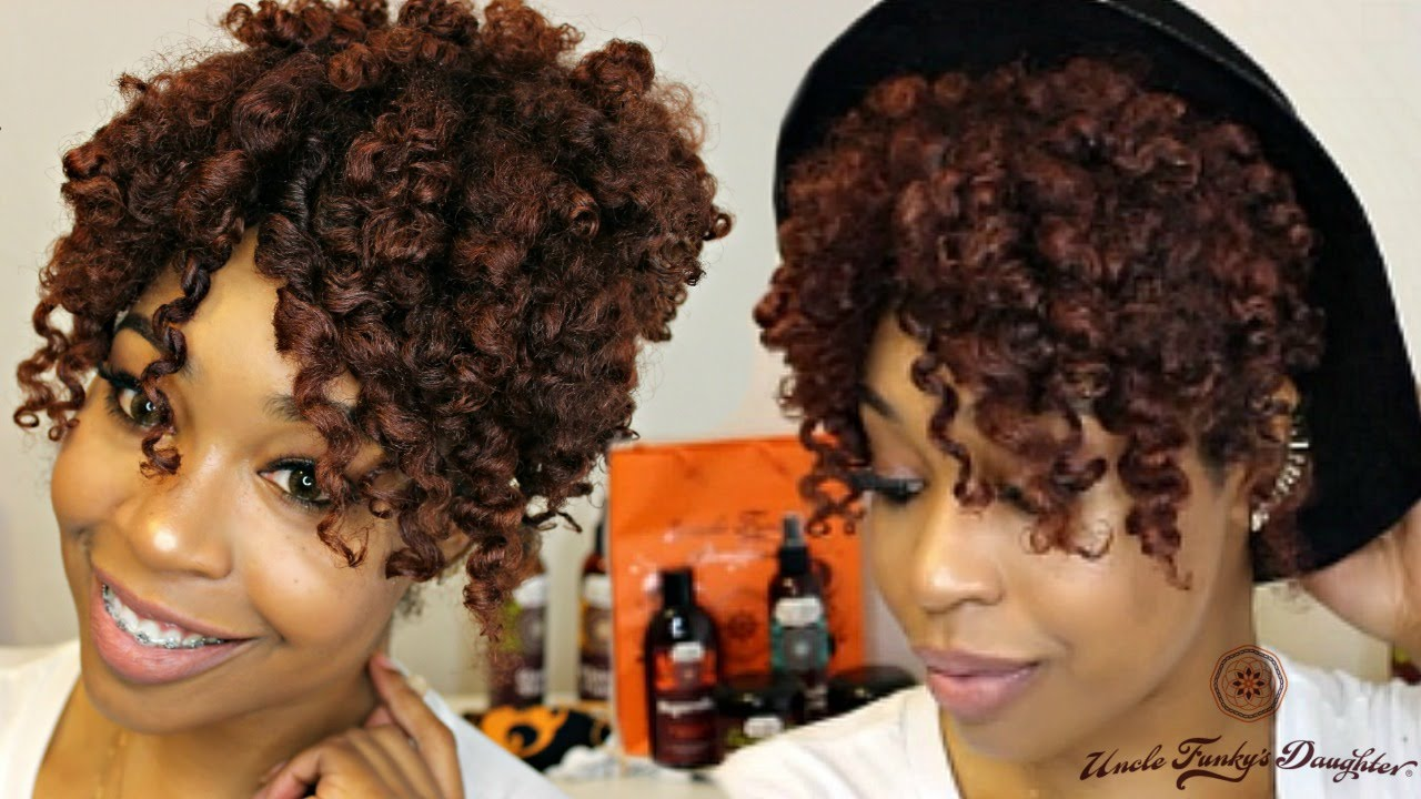 Videos Of Natural Hair Styles Best Natural Hair  Summer Ready Heatless Curls With Uncle Funky's .