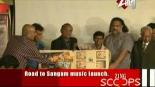 Road to Sangam music launch.