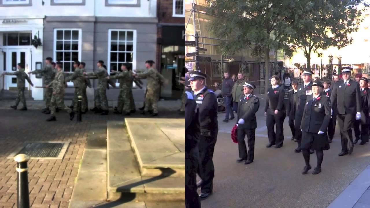 Remembrance Sunday Worcester