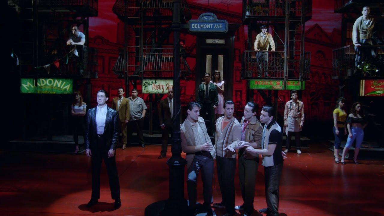 Show Clips: A BRONX TALE starring Nick Cordero, Bobby Conte Thornton and Richard Blake