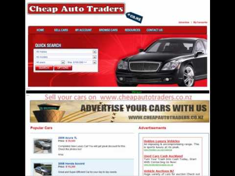 Cheap auto traders - used cars auckland