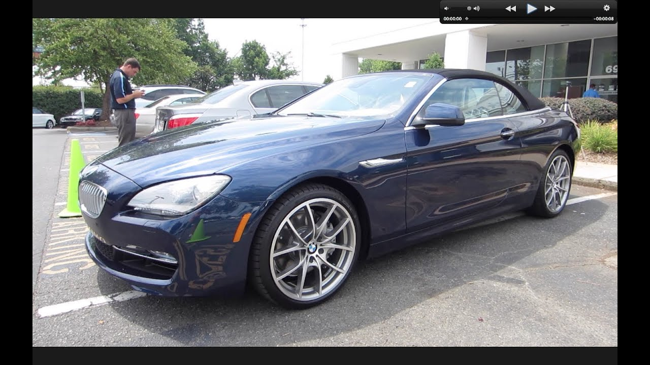 2012 BMW 650i Convertible Start Up, Exhaust, and In Depth Tour - YouTube