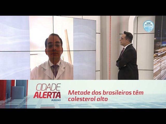 Alerta: metade dos brasileiros têm colesterol alto