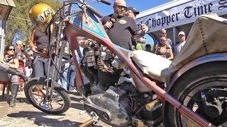 Tropical Tattoo Old School Chopper Show Bike Week 2014