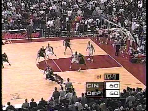 Depaul Blue Demons vs Cincinnati Bearcats 1999