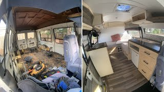 I Built an Off Grid Solar TINY HOUSE in a Van for $3,500