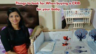 Best Crib for Baby | बच्चे के लिए CRIB खरीदते वक्त इन बातों का ज़रूर ध्यान रखें