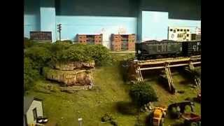 Video 6 11 2014 Schuylkill and Lehigh Model Railroad