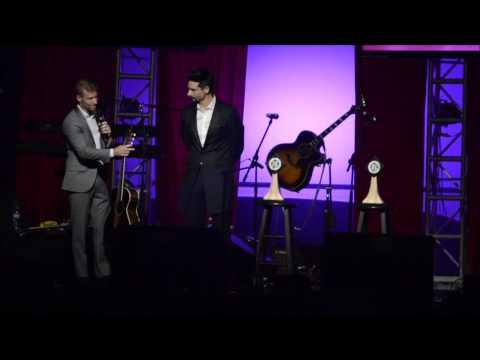 Backstreet Boys Brian Littrell and Kevin Richardson Kentucky Music Hall of Fame speeches