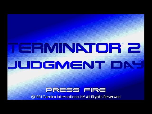 Amiga 500 Longplay [013] Terminator 2: Judgment Day
