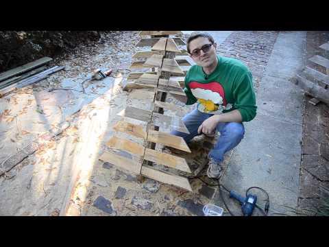 How to make a Pallet Christmas Tree the TARROU way! (Wood Tree)
