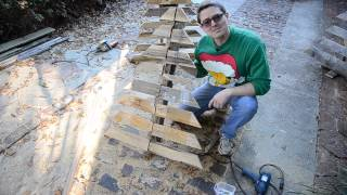 How To Make A Pallet Christmas Tree The Tarrou Way! (wood Tree)