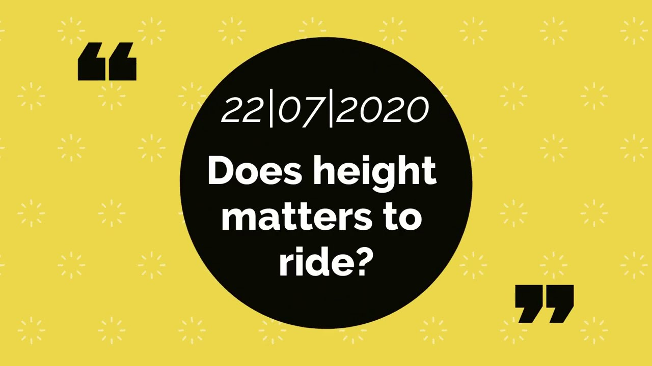 DOES HEIGHT MATTER TO RIDE ADVENTURE TOURING MOTORCYCLES