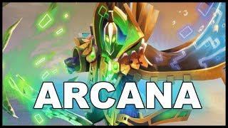 NEW Dota 2 FROSTIVUS Update - RUBICK + ARCANA!