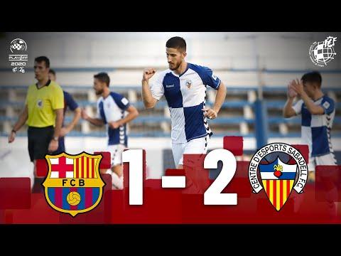 Barcelona II Sabadell CE Match Highlights