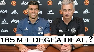 Cristiano ronaldo to manchester united - latest transfer news