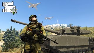 Битва за Лос Анджелес LIVE. GTA 5 mods
