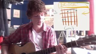 Jason Mraz Be Honest - Guitar lesson part two
