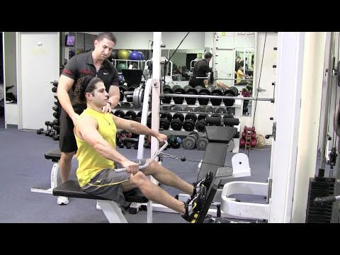 SEATED WIDE GRIP CABLE ROW by Trainer Johnny - A workout for your back