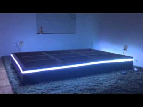 Supernight Led Light Strip Waterbed Demo Youtube