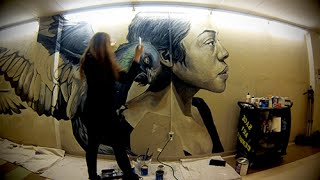 The Making of a Tunnel Mural