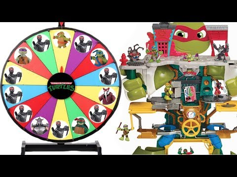 Save theTeenage Mutant Ninja Turtles TMNT Spinning Wheel Halfshell Headquarters