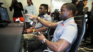 Ride Along Xperience - Playing COD Ghosts With Kevin Hart!
