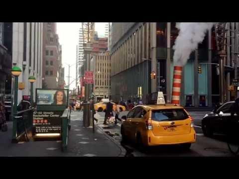 morning on 47th St, Manhattan, New York (10-17-26)