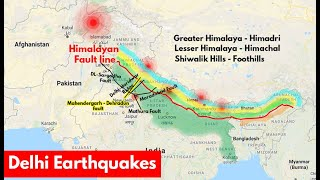 Why Delhi faces frequent Earthquakes