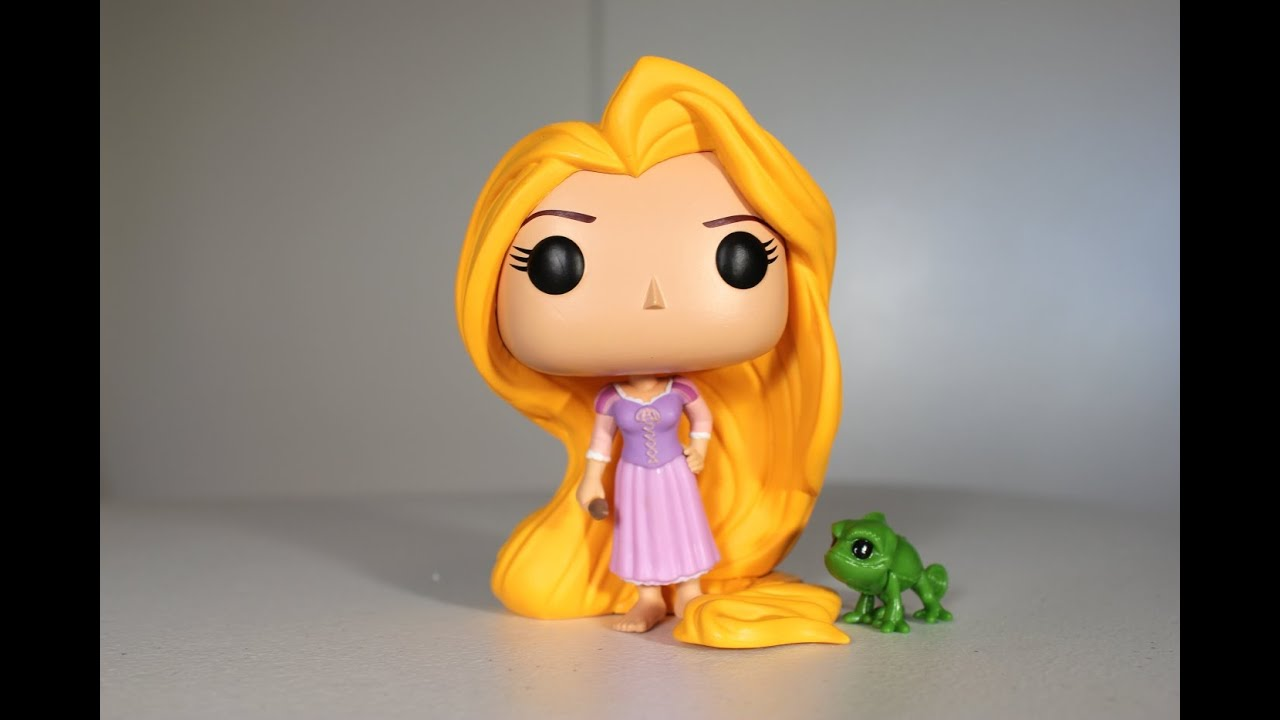 Tangled Rapunzel Amp Pascal Funko Pop Review Youtube
