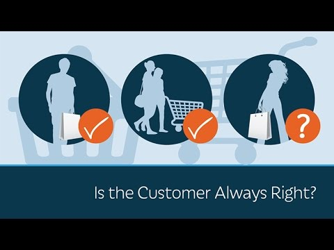 Essay about customer is always right